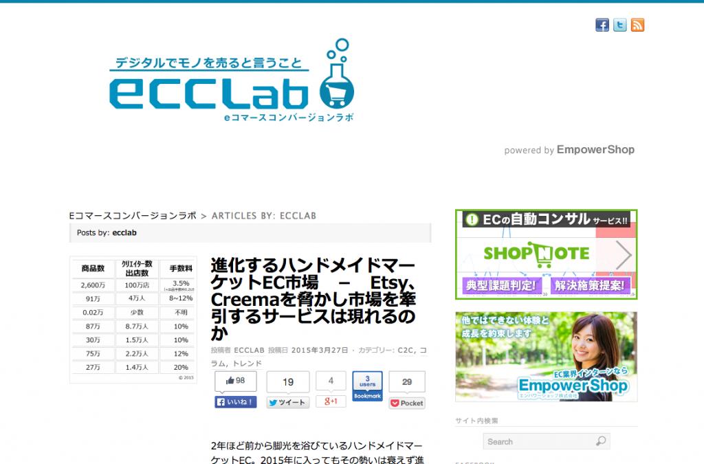 ecclab   eコマースコンバージョンラボ